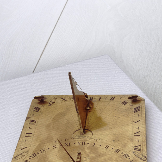 Analemmatic dial by Nicolas-Eloi Baradelle
