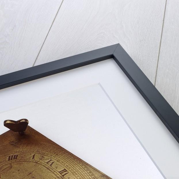 Horizontal dial by Franz Jakob Knittl