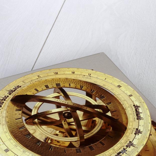 Universal equinoctial armillary dial by Mathias Hauser