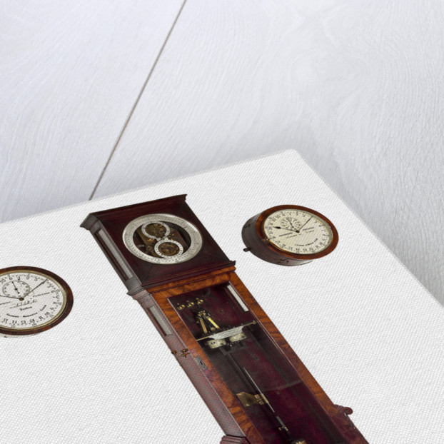 Electrical master clock by Shepherd