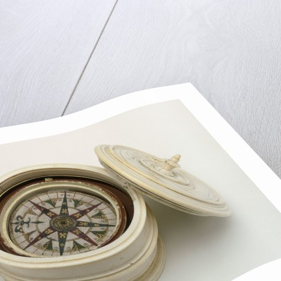 Mariner's compass, 16th century by unknown