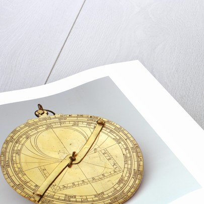 Astrolabe: obverse by unknown