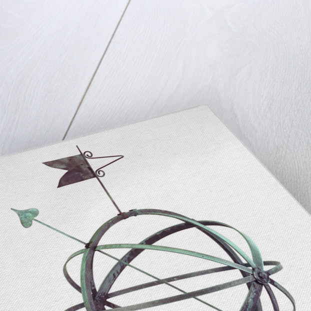 Armillary dial by unknown