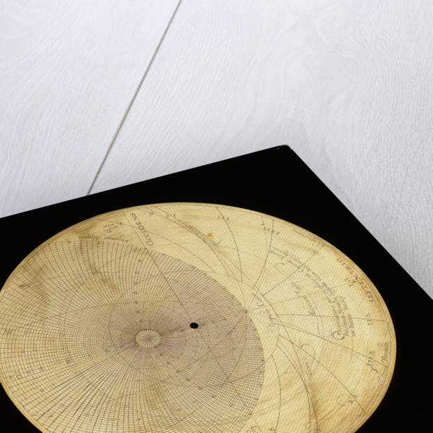 Astrolabe: plate for 48 by Erasmus Habermel