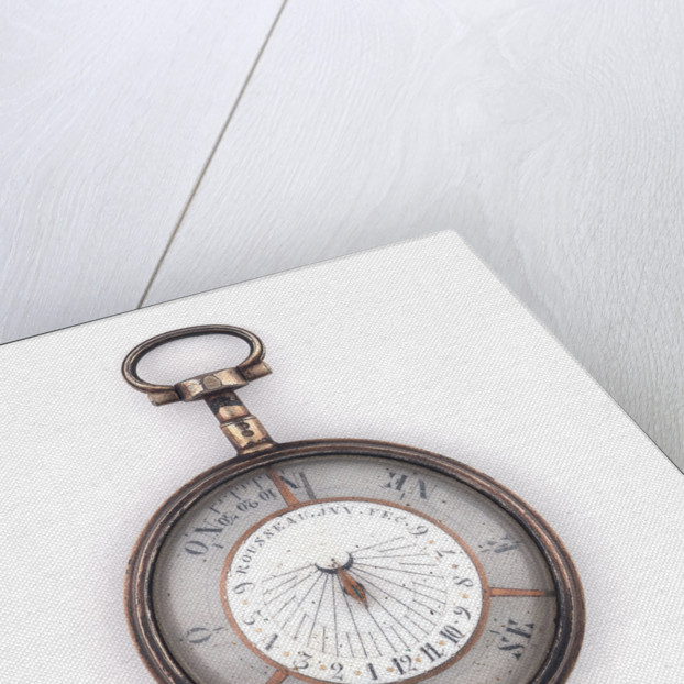 Compass dial by Rousseau