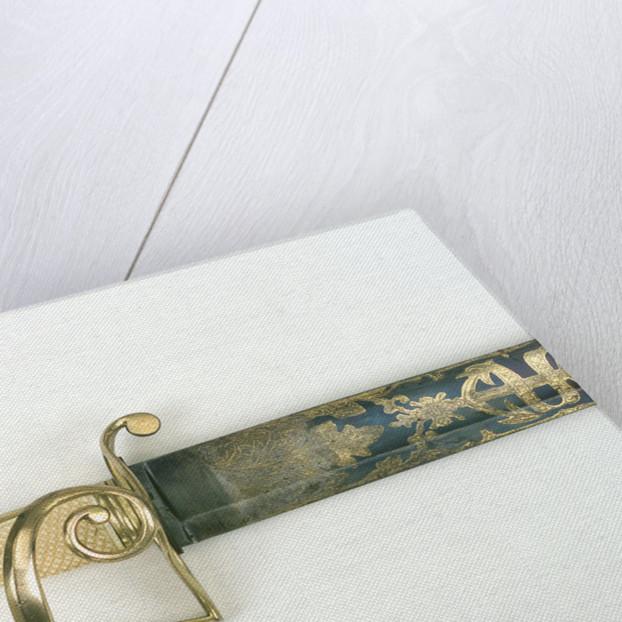 S-bar hilted sword by H. Osborn