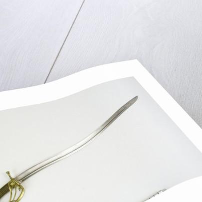 Solid half-basket hilted sword by Widdowson & Veale