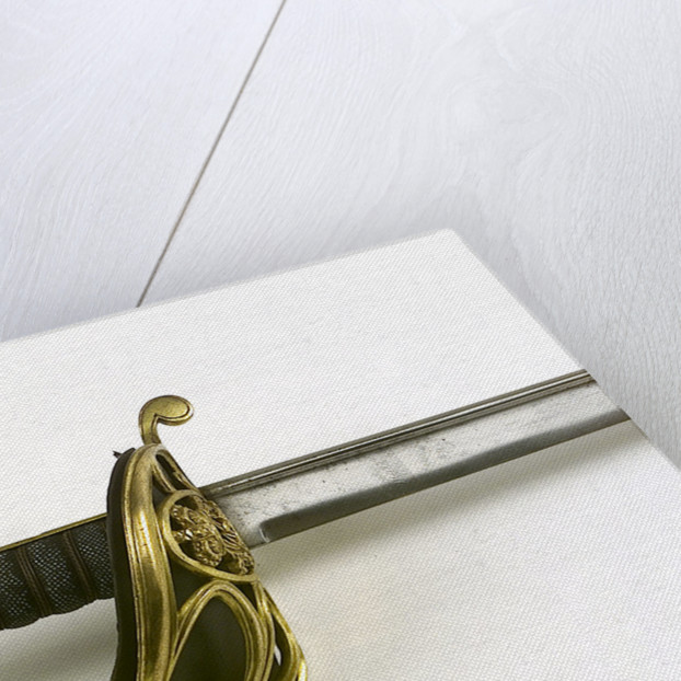 Dutch S-bar hilted sword by unknown