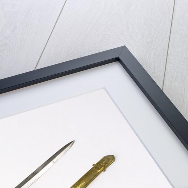 Solid half-basket hilted sword by Henry Wilkinson