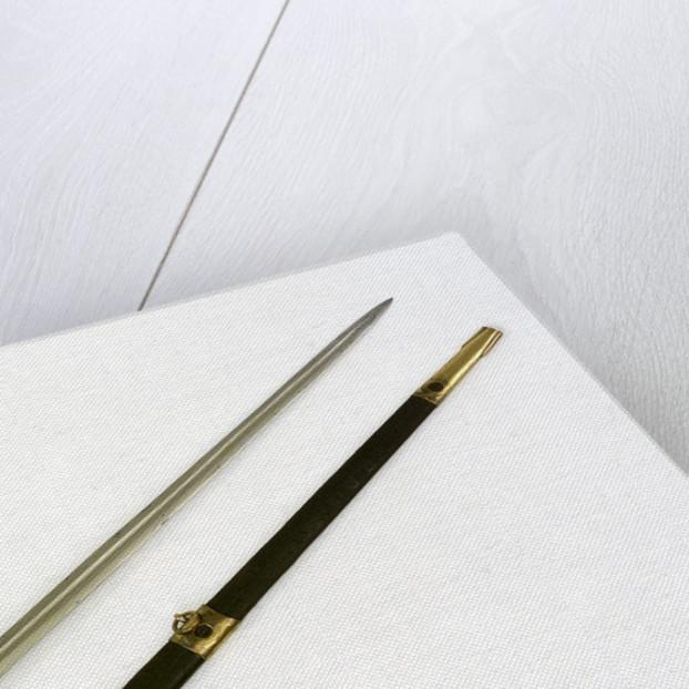 Straight-bladed dirk by H. Tatham