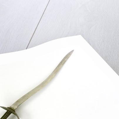 Hilt of cutlass by Heighington