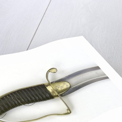 Straight-bladed dirk, which belonged to Captain John Cooke (1763-1805) by unknown