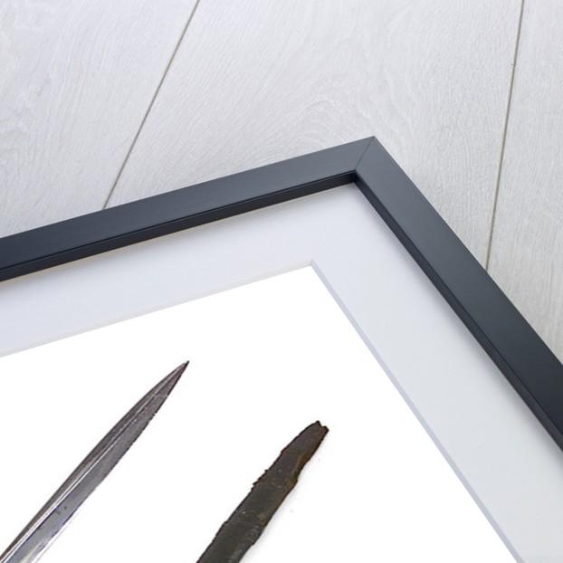 Dutch sword by X. Bisch