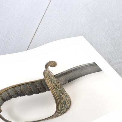 Brazilian sword by unknown