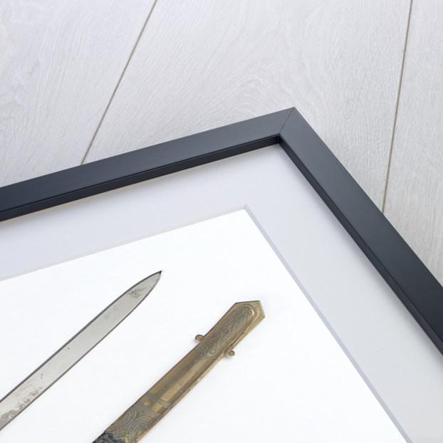 Presentation sword by Henry Wilkinson