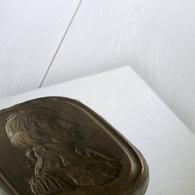 Boxwood seal carved with a profile portrait depicting Vice-Admiral Horatio Nelson (1758-1805) by unknown