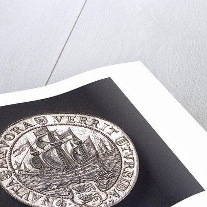 Medal commemorating the capture of the Spanish galleon 'St Jacob' off St Helena; reverse by unknown