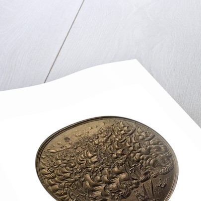 Medal commemorating the destruction of the Spanish fleet off Dover, 1639; obverse by unknown