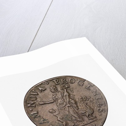 Counter commemorating the Battle of Lepanto, 1571; obverse by unknown