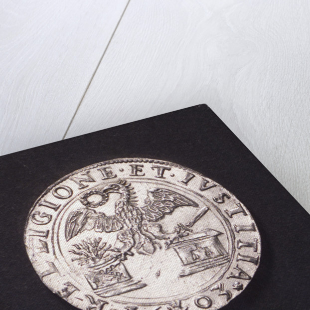 Counter commemorating the Battle of Nieuport, 1603; obverse by unknown