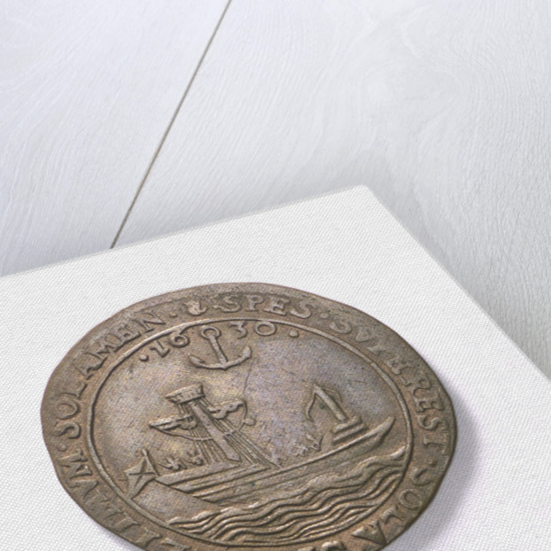 Counter commemorating hopes for peace, 1630; obverse by unknown