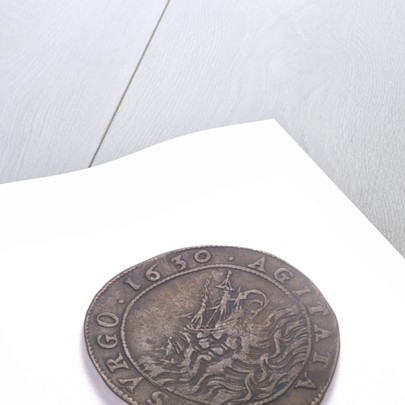 Counter commemorating preparations for the renewal of war, 1630; reverse by unknown