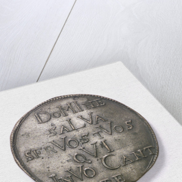 Counter commemorating the state in danger, 1678; reverse by unknown