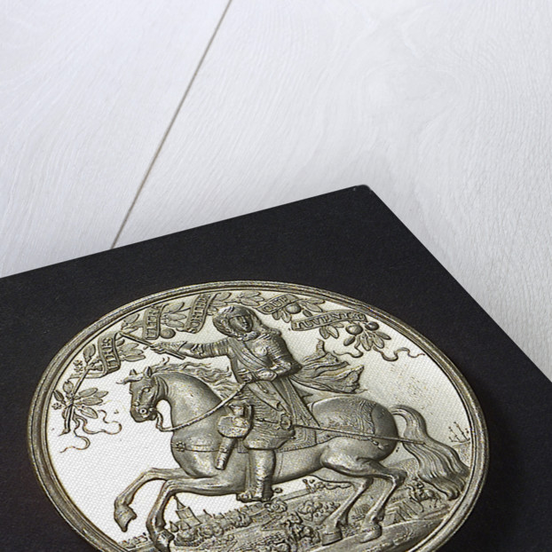 Medal commemorating the Peace of London, 1674; obverse by unknown