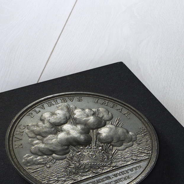 Medal commemorating the Battle of La Hogue, 1692; reverse by unknown