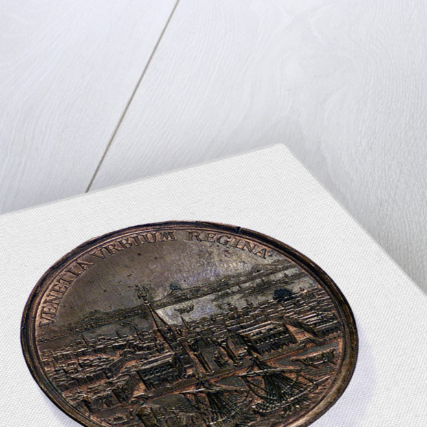 Medal commemorating the capture of the Morea and other successes, 1687; obverse by Martin Brunner