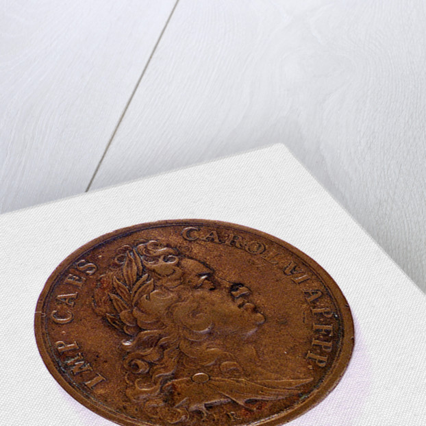 Medal commemorating the Battle of Cape Passaro, 1718; reverse by B. Richter