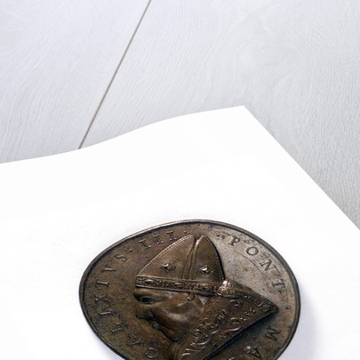 Medal commemorating the defeat of the Turkish fleet, 1455; obverse by unknown