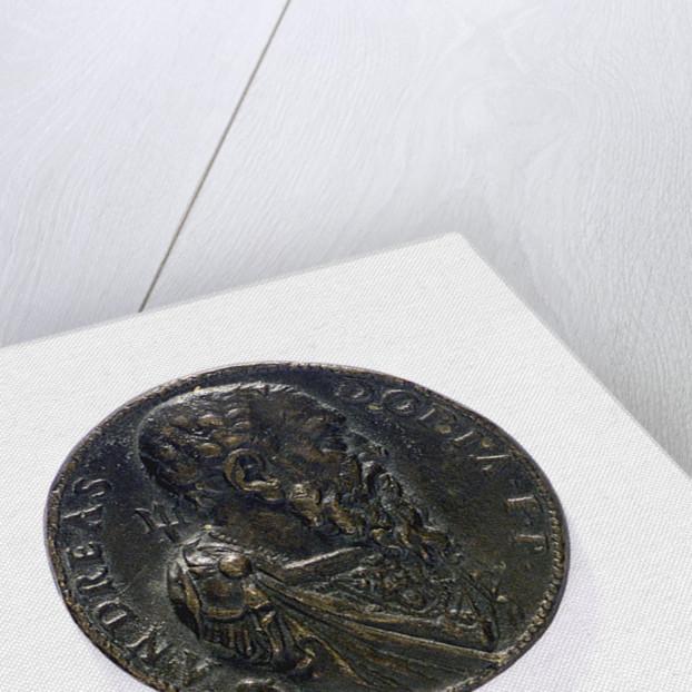 Medal commemorating  Admiral Andrea Doria (1468-1560); obverse by L. Leoni