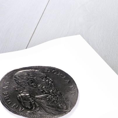 Medal commemorating Admiral Andrea Doria; obverse by L. Leoni
