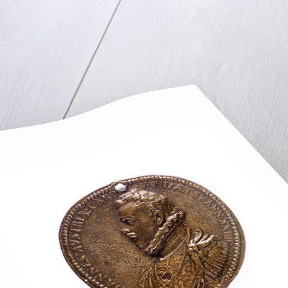Medal commemorating the Battle of Lepanto, 1571; obverse by G.V. Melone