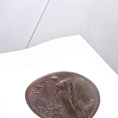 Medal commemorating peace after the Battle of Lepanto; reverse by G.F. Bonzagna