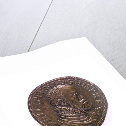 Medal commemorating the Spanish Armada, 1588; obverse by I. Trici