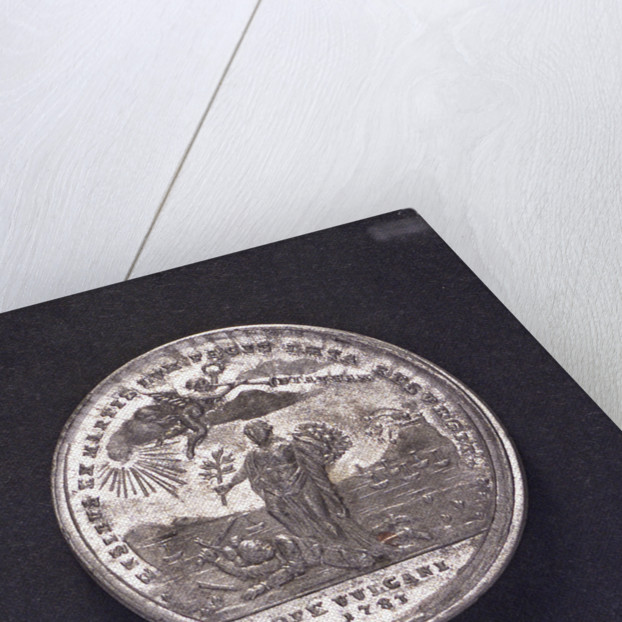 Medal commemorating Gibraltar relieved, 1783; reverse by J.C. Reich