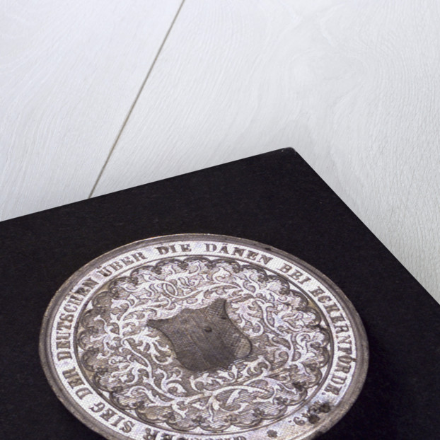 Medal commemorating the action at Eckernförde, 1849 by S. Drentwett