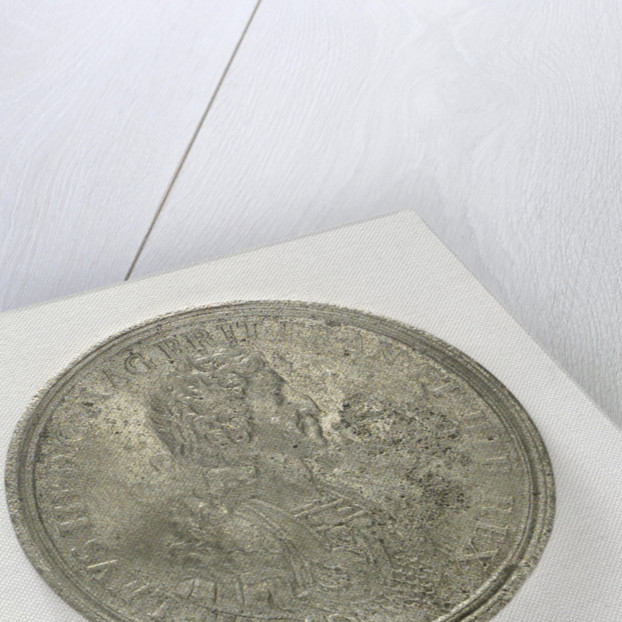Medal commemorating the Battle of la Hogue, 1692; obverse by Jan Luder