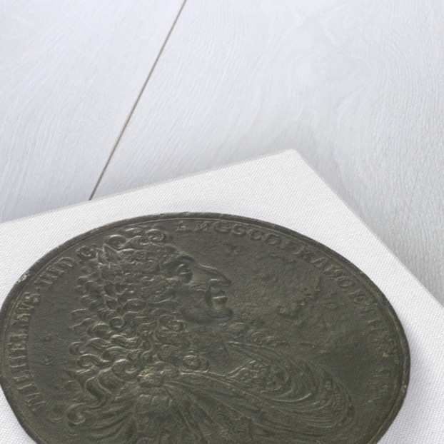 Medal commemorating the Battle of la Hogue, 1692; obverse by D.S.