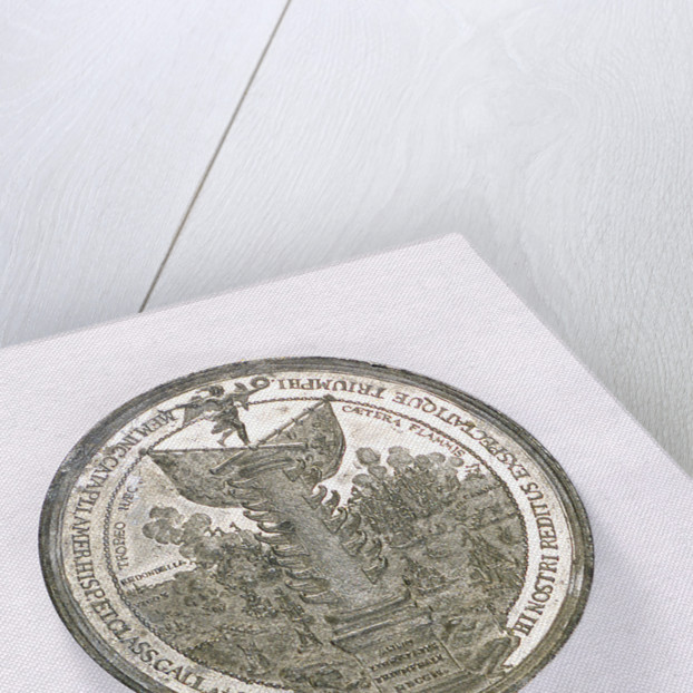 Medal commemorating the Expedition to Vigo Bay, 1702; obverse by M. Smeltzing