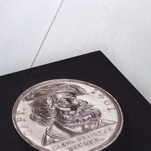 Medal commemorating the pirate Claus Störtzenbecher (died 1401); obverse by unknown