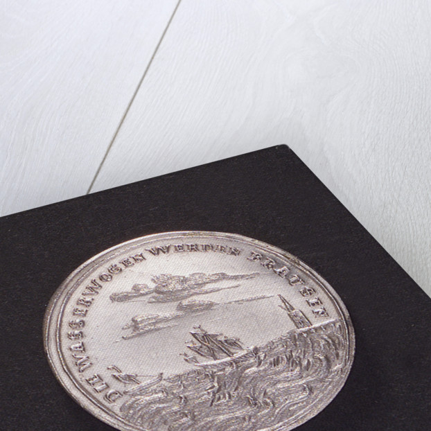 Medal commemorating the earthquake at Lisbon, 1755; obverse by unknown