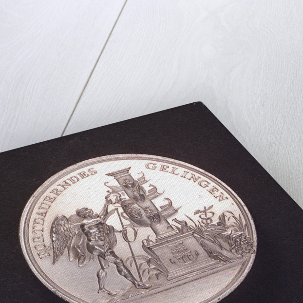 Medal commemorating the Hamburg Admiralty; obverse by unknown