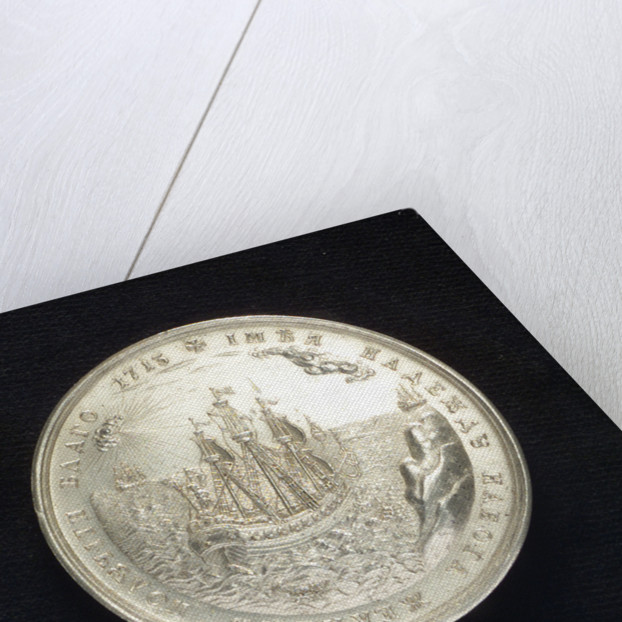 Medal commemorating the Expedition against Finland, 1713-14; reverse by T. Iwanov