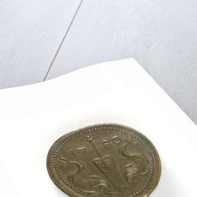 Medal commemorating Admiral Henrik af Trolle; reverse by C.G. Fehrman