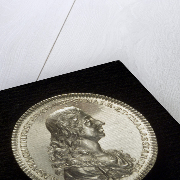 Medal commemorating Admiral Count Wachtmeister (1641-1714); obverse by C. Enhorning