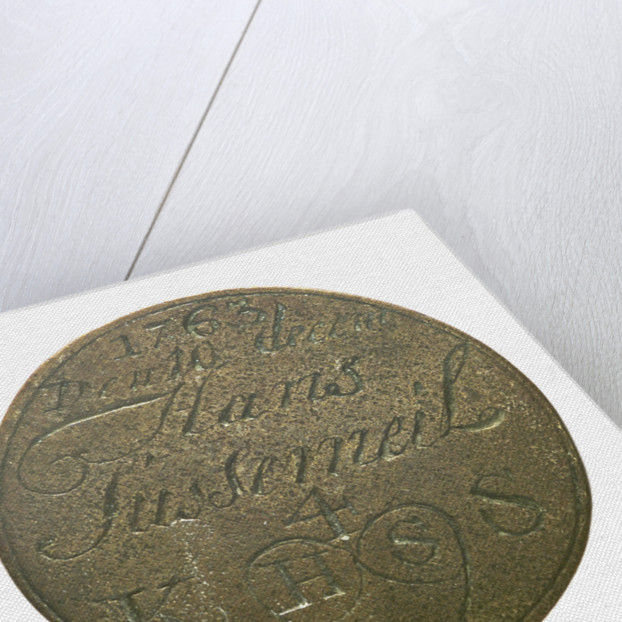 Lighterman's badge; reverse by unknown
