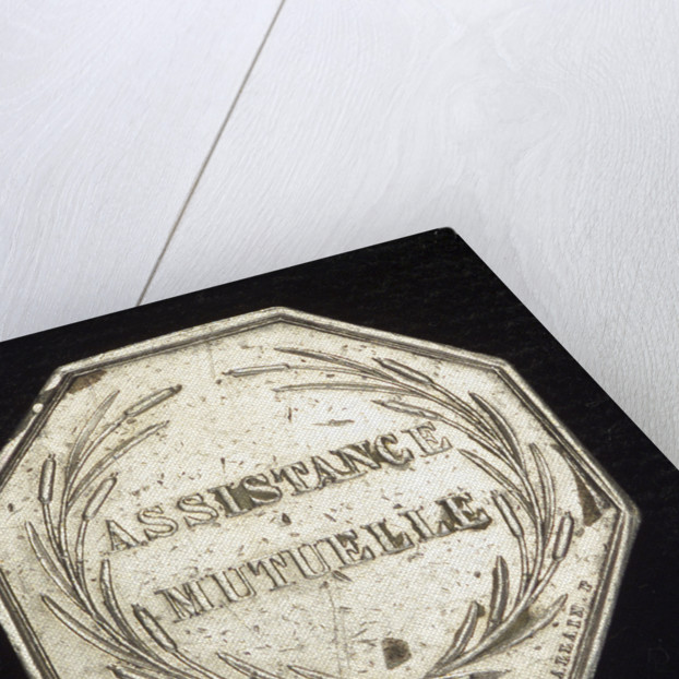 Medal commemorating the RÔòá┬«union syndicate de Marine by Allain